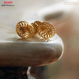 Convergent Swirl Cufflinks